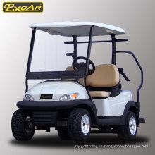 Venta caliente 2 plazas de carrito de golf eléctrico para campo de golf