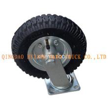 Schwenkbare pneumatische Gummi Caster Rad SC80