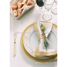 Christmas coupe shape dinnerware royal fine bone china dinner set