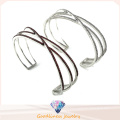 2016 Holesale Charm New Fashion Jewelry Silver Woman Bangle G41342