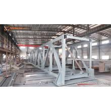 Grande construction de bâtiment d'atelier de structure métallique