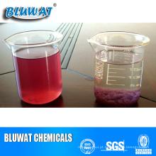Produtos químicos para remoção de cor para tratamento de efluentes têxteis