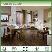 Dark grey hickory hardwood flooring indoor