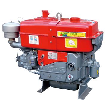 Дизельный двигатель Jiangdong с водяным охлаждением (Zh1105wb2)