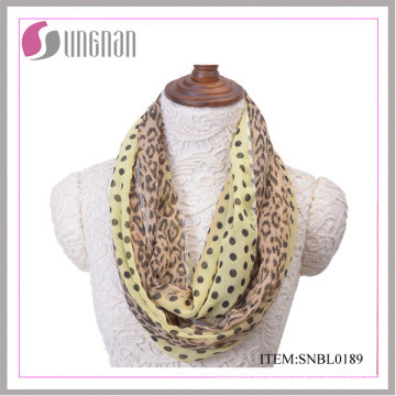 2016 Fashion Leopard Pattern Sexy Women Infinity Scarf (SNBL0189)