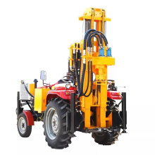 Mini man tractor mounted DTH water well drilling rig for sale