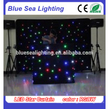 Светодиодные звезды занавес свет для сцены dj фон свадьбы украшения