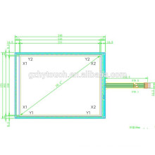 "10,4 ""5 Draht smart Glas holographischen resistiven Touchscreen"