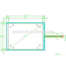 """10.4 """"5-проводной смарт-стекла голографический резистивный сенсорный экран"""