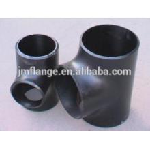 Aço de aço macio sgp a105 tubo de aço forjado montagem tee
