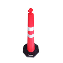 1100*95-220mm T-top PE plastic traffic delineator post