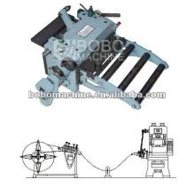 Automatic feeder, straightener and punching machine