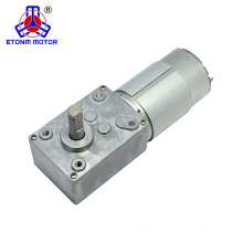high torque silent worm gear motor for electric curtain