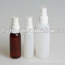 Botella de aerosol plástica 100ml vacía de la venta caliente 2014