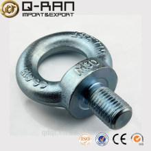 Hardware del aparejo galvanizada elevación perno de ojo Din580