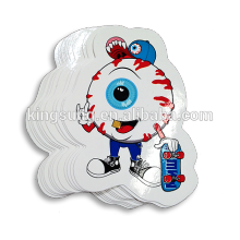factory custom fancy self adhesive label stickers