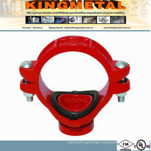 FM /UL Approved Mechanical Tee Grooved for Ductile Iron Pipe