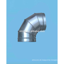 Verzinkter Stahl gored Ellenbogen (Spiral Duct Armaturen)