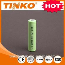 CE standard NI-MH AAA1000mah battery in China factory
