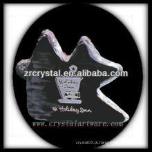 design atraente em branco troféu de cristal X060
