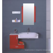 Meuble-lavabo de salle de bains en MDF de 100 cm (B-501B)