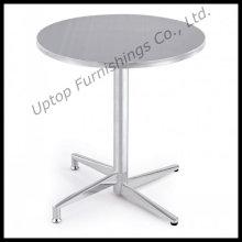 Бистро используется сталь складной Круглый стол из нержавеющей стали (СП-MT001)