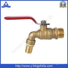 "1/2"" Brass Tap Colour Bibcock with Iron Handle (YD-2020)"