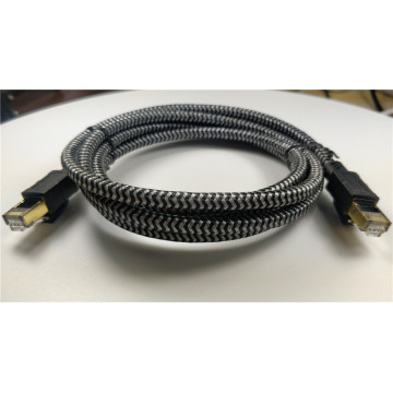 Red de Internet Lan Patch Cable Cat 8 trenzado