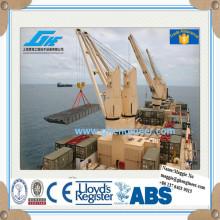 Морской электрический кран для перевозки сыпучих грузов