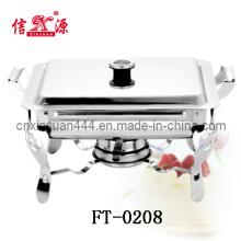 Prato de aquecimento por atrito aço inoxidável removível (FT-0208)