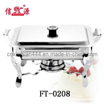 Plato de frotamiento extraíble de acero inoxidable (FT-0208)
