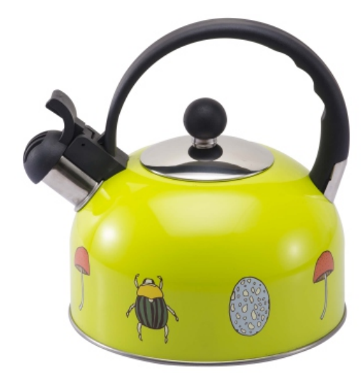 KHK115 2.5L color painting Teakettle yellow color