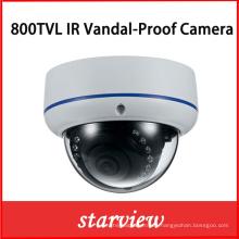 800tvl IR prueba de vandalismo fijo cámara de seguridad cúpula CCTV (D22)