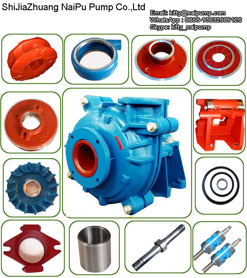 6 4dah Slurry Pump Parts
