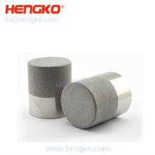 Porous sintered stainless steel material pressure sensor housing for protect the SHT sensor