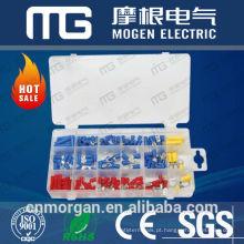 Conjuntos de conectores pré-isolados e de bunda MG 160pc