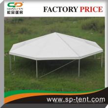 Guangzhou Fabrik große 25m Aluminium Dodecagon Luxus Polygon Hochzeit Zelte für 350 Personen