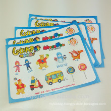 A5 size carton characters sticker paper sheet