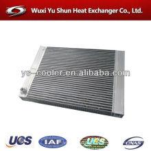 Proveedor de piezas de refrigerador de aire de aluminio de placa y barra
