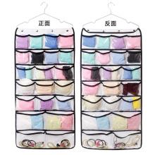 Doppelseitige Hängetasche mit mehreren Taschen