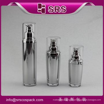 China Cosméticos Creme garrafa vazia, creme de rosto loção garrafa, 30ml rolo de vidro desodorante em garrafa para creme