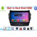 Système Android Car DVD pour IX45 Écran tactile de 9 pouces avec navigation GPS