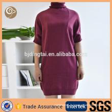 Wholesale élégant robe en cachemire kintted à vendre