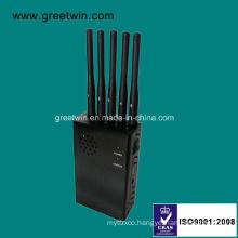Five Antennas Handheld Jammer Signal Jammer in Secret Meeting (GW-JN5)