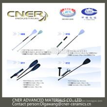 Finition mate de lame de palette de kayak de fibre de carbone 3k de marque Cner, Cner composite LTD.