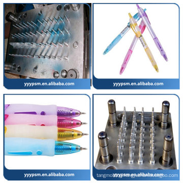 2016 newest plastic injection mould for plastic ballpoint pen