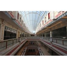 Китай Большой торговый центр Span Стальная рама Структурное стекло Купол Крыша Skylight