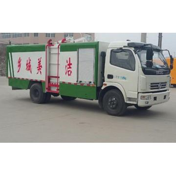 DFAC 7-8CBM Side Mounted Compression Sampah Truck