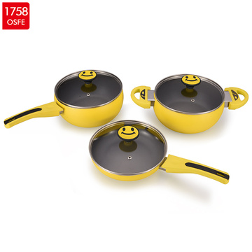 Cheaper Aluminium Casserole pot set