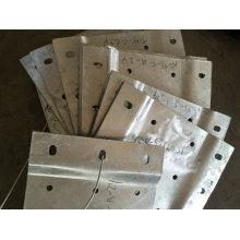 Low Cost OEM Metallherstellung und Schweißen Teile für den Bau verwenden